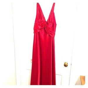 Red prom/formal dress